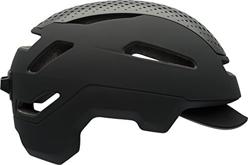 Bell Hub Commuter Adult Bike Helmet (Matte Black (2018), Medium)