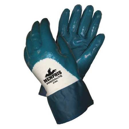 Chemical Resistant Nitrile Gloves, XL, 10-1/2''L, Safety, 12 pk. by MCR SAFETY (Image #1)