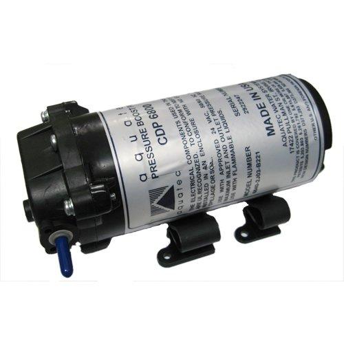 [해외]Aquatec 6800 시리즈 RO 부스터 펌프 (최대 50 GPD) 1 4 JG 24 VAC 6840-2J03-B221S/Aquatec 6800 Series RO Booster Pump for up to 50 GPD