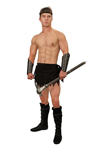 Museum Replicas Limited Men's Fantasy Suede Loincloth Jungle Costume