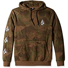 Volcom Men's Deadly Stone Pullover Hooded Fleece Sweatshirt