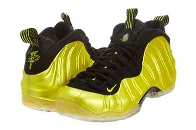 Nike Air Foamposite One Men's Fashion Sneakers Electrol Lime/Electrol Lime-Black 314996-330 (9.5 M)