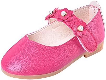 ALPHELIGANCE Girls Ballet Mary Jane Strap School Uniform Dress Flat Shoes Toddler//Little Kid