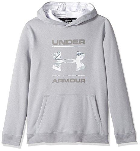 Under Armour Boys' Camo Fill Logo Hoodie