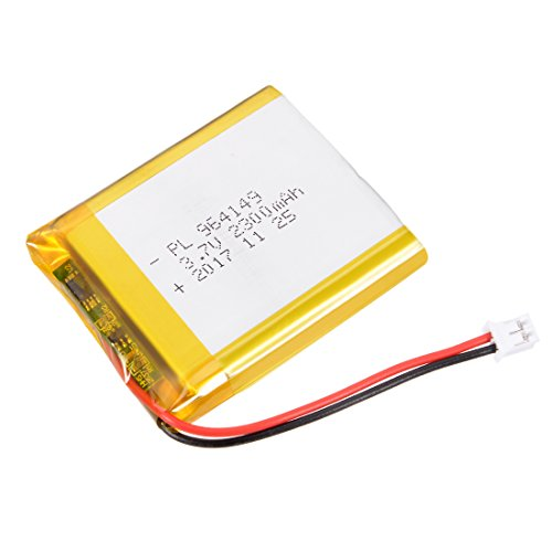uxcell® Power Supply DC 3.7V 2300mAh 964149 Li-ion Rechargeable Lithium Polymer Li-Po Battery ()