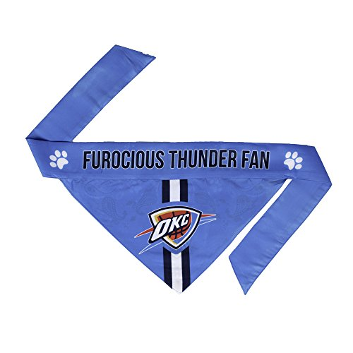 NBA Oklahoma City Thunder Pet Bandanna, Small
