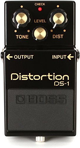 Boss DS-1-4A Distortion Pedal 40th Anniversary Model w/Bonus RIS Picks (x3) 761294510728