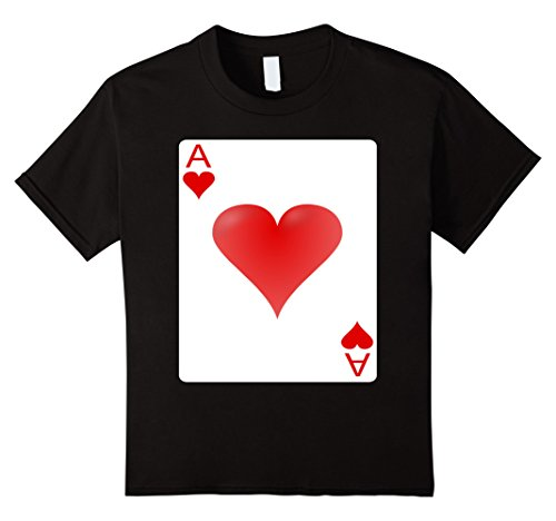 Kids Ace of hearts playing card Halloween Group