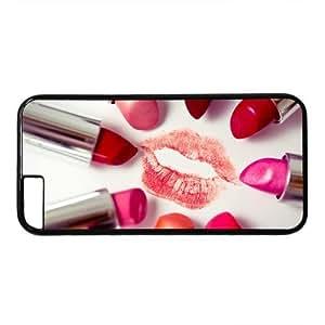 "Lipsticks Theme Case for iPhone 6(4.7"") PC Material Black WANGJING JINDA"