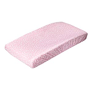 "Premium Knit Diaper Changing Pad Cover""Lucy"" by Copper Pearl"