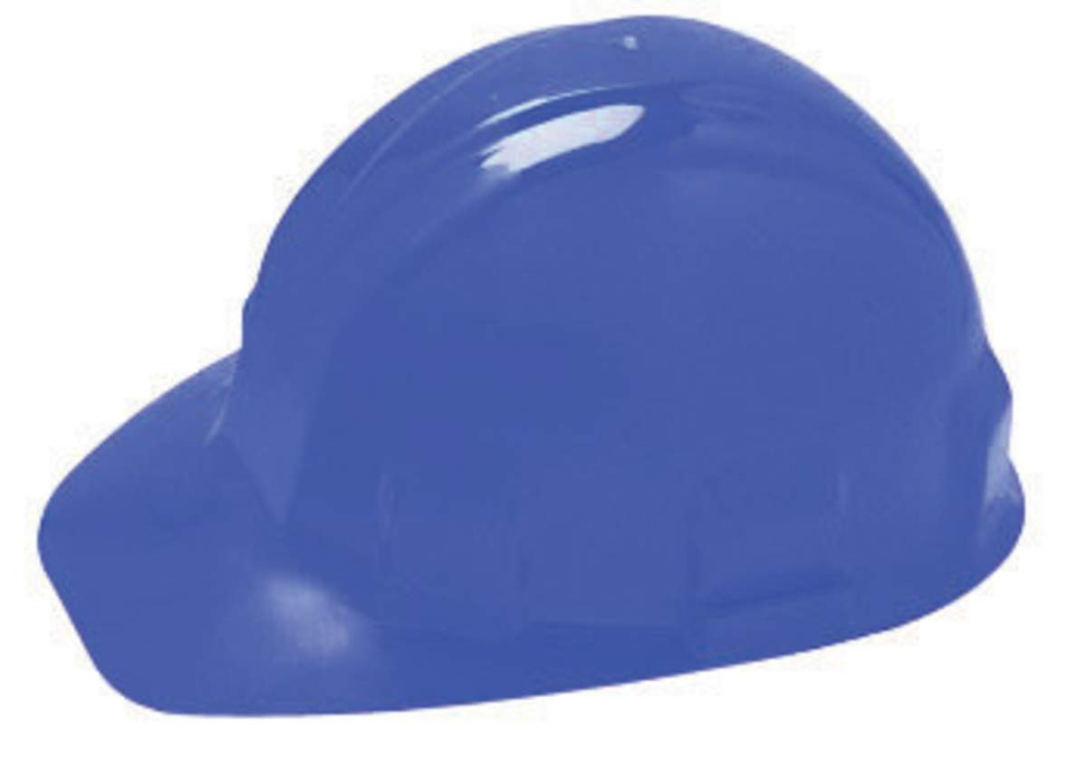 bc9aedb64cc Kimberly-Clark Professional Blue Jackson Safety Sentry III HDPE Cap Style  Slotted Hard Hat With 6 Point Ratchet Suspension - 192 Each Pallet - -  Amazon.com