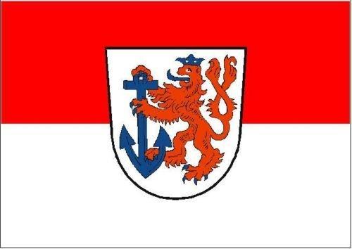 U24 Motorradflagge D/üsseldorf Fahne Flagge 20 x 30 cm