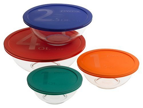 (Pyrex Smart Essentials 8-Piece Mixing Bowl)