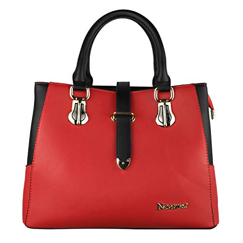Red Satchel Handbags - 5
