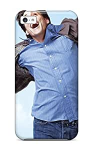 Defender Case For Iphone 5c, Jim Carrey In Yes Man Pattern