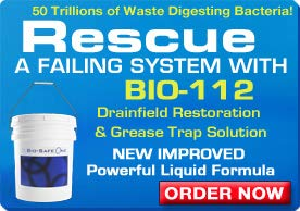 Bio-Safe One Level 4 Shock System- LVL4 Septic Tank Drain Field Restoration Cleaning System - Patented Bacterial Enzyme Based for All Septic Septic Systems, Cesspools, 4th Level Package by Bio-Safe One, Inc. (Image #8)