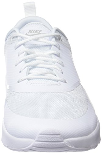 Nike para Platine Air 110 Thea MAX Pur Mujer Wmns Zapatillas Blanco Blanc Blanc ASrwOWAq