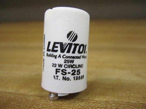 Leviton FS-25 Fluorescent Lamp Starters FS25 (Starter Fs25)
