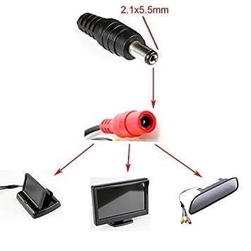 3M Rallonge Extension C/âble CC 2.1x5.5mm M/âle vers Femelle Alimentation Jack Plug DC pour Moniteur Cam/éra Voiture CCTV LED Lumi/ères