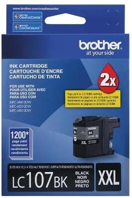 OEM 1200 Yield MFC-J4310DW 4410DW 4510DW 4610DW 4710DW Super High Yield Black Ink Brother LC107BK OEM Ink