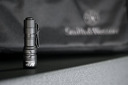 M&P by Smith & Wesson Delta Force CS-20 CREE Flashlight 215 Lumens 3 Mode Waterproof Memory Retention Tactical Hunting Camping Hiking Fishing Self-Defense Pocket-Sized by Smith & Wesson (Image #6)