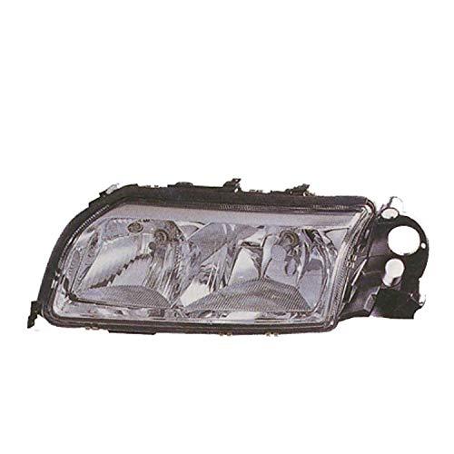 New Right Passenger Side Halogen Head Light Assembly For 2004-2006 Volvo S80 With Chrome Bezel 615343207018 ()