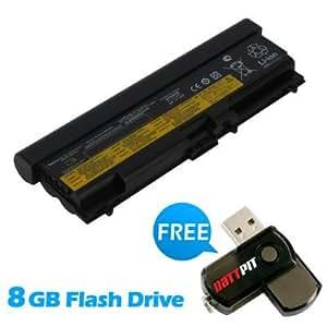 Battpit Bateria de repuesto para portátiles Lenovo 45N1013 (6600 mah) Con memoria USB de 8GB GRATUITA