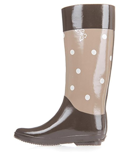 Rubber Thick Women Natural 1 Boot 's Puddles Base SONGYUNYAN Rain High OwIqtq