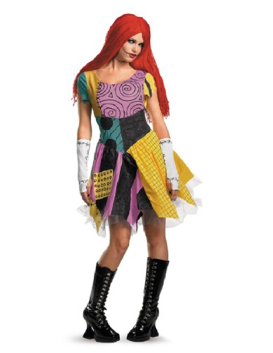 Disguise Women's Sassy Sally Costume, Multi, Large -