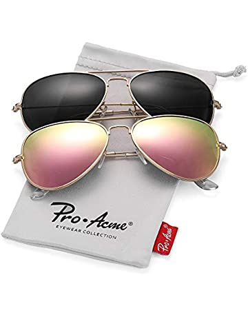 ac21072e99bd Pro Acme Classic Polarized Aviator Sunglasses for Men and Women UV400  Protection