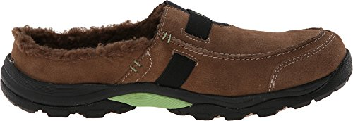 Ryka Canyon Moc Womens Brown Suede Casual Jurk Slip Op Loafers Schoenen