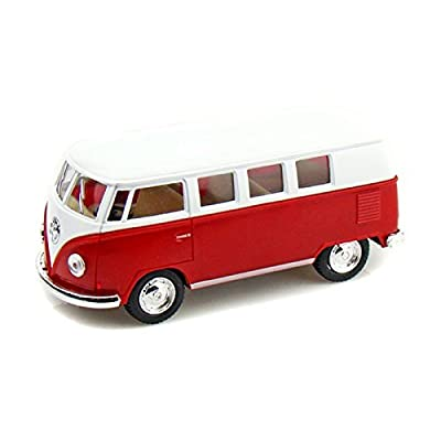 1962 VolksWagen Classical Bus 1/32 Red: Toys & Games