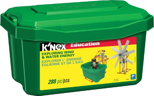 K'NEX Education - Exploring Wind and Water Energy (Wind Power Experiment Kit)