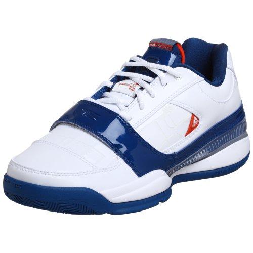 adidas Men's TS Lightswitch GIL Basketball Shoe,White/Blue/Orange,11 (11m Switch)