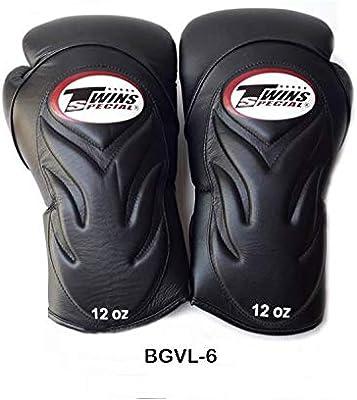 TWINS SPECIAL MUAY THAI BOXING GLOVES BGVL6 BLACK
