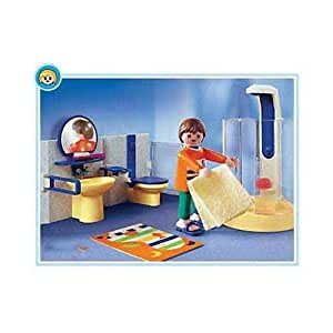 playmobil modern bathroom toys games