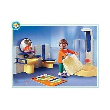 Playmobil 3969 La Maison Moderne Salle De Bains Contemporaine