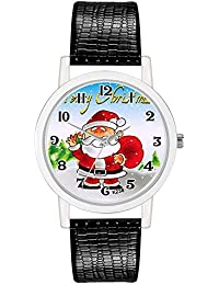Christmas Decoration Watch Creative Quartz Watch Suitable for Boys and Girls