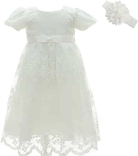 042ed1ec74 AHAHA Baptism Gowns for Baby Girls Princess Wedding Dress Baby Birthday  Party Dresses for Special Occasion