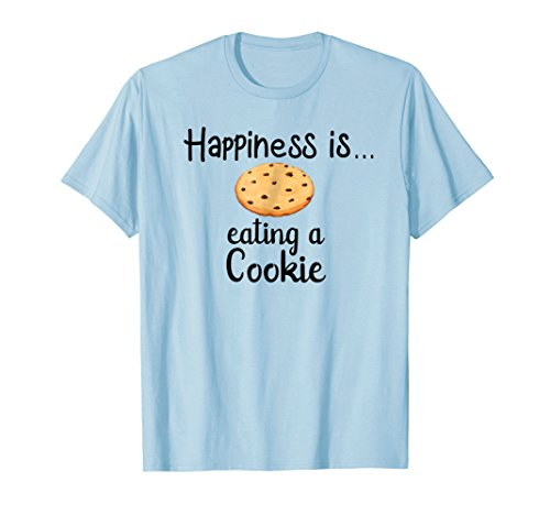 Happiness is eating a cookie Graphic T-Shirt