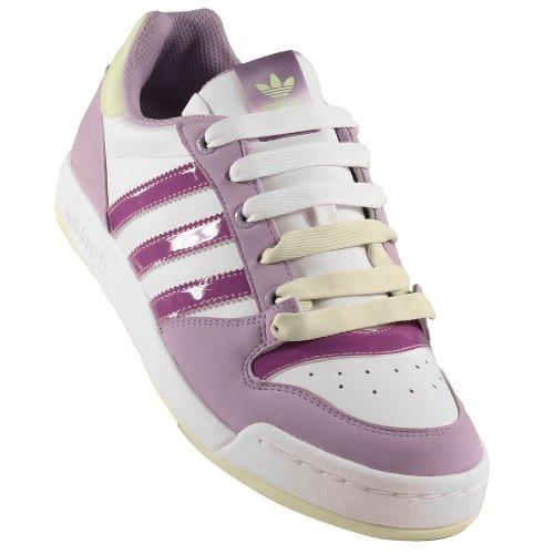 W Mode violet mauve Adidas Blanc Baskets Femme Midiru Originals Court 4FnnvWptT