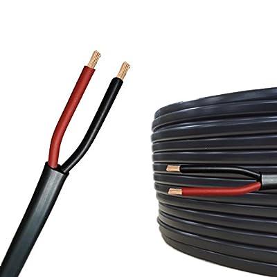 20m AUPROTEC Flachkabel 2 adriges Elektrokabel Anhängerkabel 2 x 2,5 mm²