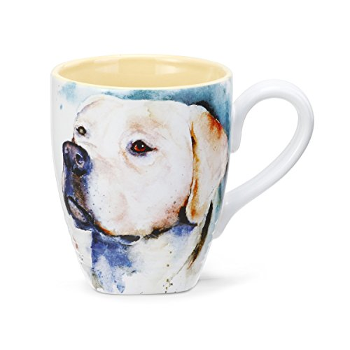 - Big Sky Carvers Yellow Lab Mug, 16-Ounce, Multicolor