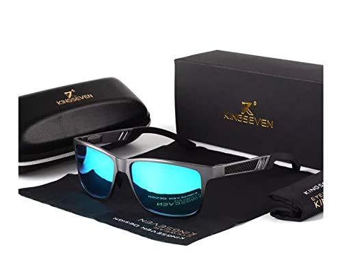 Genuine Kingseven sunglasses 2018 men fashion polarized UV400 Ultra light Al-Mg ()