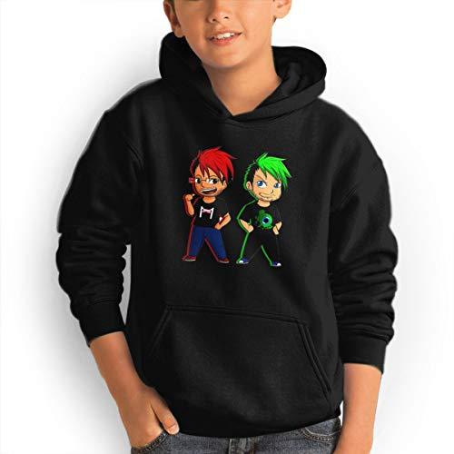 (Don Washington Markiplier Jacksepticeye Youth Hoodies Fashion Sweatshirts Pullover Black)