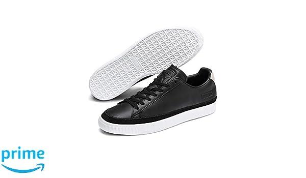 puma basket trim block sneakers