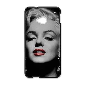 HTC One M7 Cell Phone Case Black Marilyn Monroe bmn vltoi