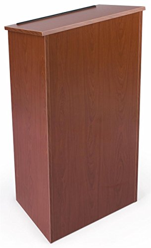 - Full Floor Lectern Podium with Internal Shelf, 45