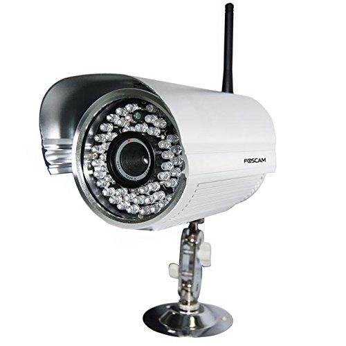 FI8905W Network camera - outdoor - WiFi - day/night - silver
