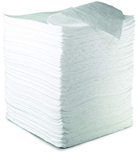 3M HP-156 Polypropylene and Polyester High Capacity Sorbent Pad 37.5 gal/Bale, Plastic, 19